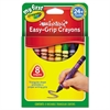 My First Washable Triangular Crayons, Wax, 8/Set