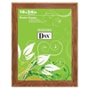 DAX Plastic Poster Frame, Traditional Clear Plastic Window, 18 x 24, Medium Oak