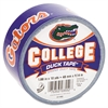 "Duck College DuckTape, University of Florida Gators, 1.88"" x 10 yds, 3"" Core"