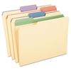 """Pendaflex Color Tab File Folders, 1/3 Cut, 3/4"""" Exp., Letter, 12/PK"""