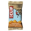 CLIF Bar Energy Bar, Crunchy Peanut Butter, 2.4oz, 12/Box