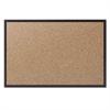 Classic Series Cork Bulletin Board, 48x36, Black Aluminum Frame