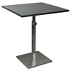 BALT Height-Adjustable Bistro Table, 31-1/2w x 31-1/2d x 30 to 43-1/2h, Black
