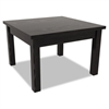 Alera Valencia Series Occasional Table, Rectangle,23-5/8w x 20d x 20-3/8h, Black