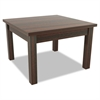 Alera Alera Valencia Series Occasional Table, Square,23-5/8 x 23-5/8 x 20-3/8,Mahogany