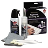 "Premium Keyboard Cleaning Kit, 50 mL Bottle, 5 1/4"" x 7 1/2"" Cloth, 4 Swabs"