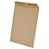Earthwise by Ampad 100% Recycled Paper Clasp Envelope, 9 x 12, Brown, 110/Box