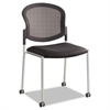 Diaz Guest Chair, Mesh Back/Fabric Seat, Black