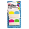 Redi-Tag Write-On Self-Stick Index Tabs, 1 1/16 Inch, 4 Colors, 48/Pack