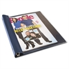 Advantus Catalog/Magazine Binder, 11 x 9 1/2, Clear Front, Navy Blue Back