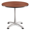 "Safco Cha-Cha Table Top, Laminate, Round, 36"" Diameter, Cherry"