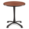 "Safco Cha-Cha Table Top, Laminate, Round, 30"" Diameter, Cherry"