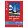 Canon Matte Photo Paper, 4 x 6, 45 lb., White, 120 Sheets/Pack