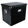 Advantus File Box, 13 x 10 x 11, Letter, Paperboard, Black