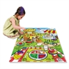 Chenille Kraft WonderFoam Land Of Nutrition Floor Puzzle, 63 Pieces