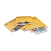 Sealed Air Jiffylite Self-Seal Mailer, Contemporary Seam, 4 x 8, Golden Yellow