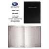 Roaring Spring Lab Research Notebook, Quadrille, 11 1/4 x 8 3/4, 72 White Pages, Black Cover
