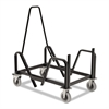 HON Motivate Seating Cart High-Density Stacking Chairs, 21-3/8 x 34-1/4 x 36-5/8,Blk