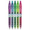 B2P Bottle-2-Pen Colors Recycled Retractable Gel Ink Pen, Assorted, .7mm, 5/Pack