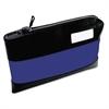 Rugged Combination Deposit Bag, 11 x 1 x 8 1/2, Nylon, Navy