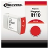 Innovera Compatible 4127176R (IJ110) Ink, Red