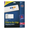 Vibrant Color-Printing Shipping Labels, 2 x 3 3/4, White, 200/Pack
