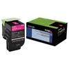 70C10M0 Toner (LEX-701M) 1000 Page-Yield, Magenta