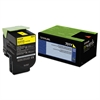 70C10Y0 Toner (LEX-701Y) 1000 Page-Yield,Yellow