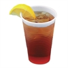 Translucent Plastic Cold Cups, 3oz, 125/Pack