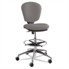Metro Collection Extended Height Swivel/Tilt Chair, Gray Fabric