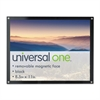 Universal Acrylic Easel Back Magnetic Frame for 8 1/2 x 11 Insert, Black