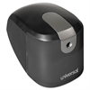 Universal Pencil Sharpener, Electric, Desktop, Lite-to-Med Duty, Black/Gray