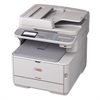 Oki MC362w Wireless Multifunction Color Laser Printer, Copy/Fax/Print/Scan