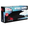 Venom Nitrile Exam Gloves, L/X-Large, Blue, Powder-Free, 100/Box