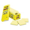 Post-it Canary Yellow Note Pads, 3 x 3, 90-Sheet, 24/Pack