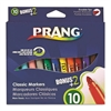 Prang Prang Classic Art Markers, Durable Tip, 12 Assorted Colors