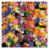 Creativity Street Upper Case Letter Beads, Assorted Colors, 288 Beads/Set