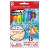 RoseArt Watercolor Twist Ups, Assorted, 8 per set