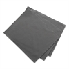 "Microfiber Cleaning Cloths, 6"" x 7"", Grey, 3/Pack"