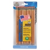 Write Dudes USA Gold Series #2 Pencils, Cedar, Natural, Dozen