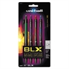 207 BLX Series Gel Pen, .7mm, Assorted, 4/Pack