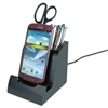 Smart Charge Dock with Pencil Cup for Micro USB Devices
