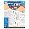 Carson-Dellosa Publishing Common Core 4 Today Workbook, Language Arts, Grade 3, 96 pages