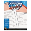 Carson-Dellosa Publishing Common Core 4 Today Workbook, Language Arts, Grade 1, 96 pages