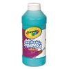 Crayola Artista II Washable Tempera Paint, Turquoise, 16 oz