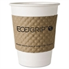 Eco-Products EcoGrip Hot Cup Sleeves - Renewable & Compostable, 1300/CT