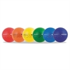 "Champion Sports Rhino Skin Dodge Ball Set, 7"" Diameter, Assorted, 6 Balls/Set"