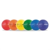"Champion Sports Rhino Skin Dodge Ball Set, 8"" Diameter, Assorted, 6 Balls/Set"