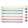 Champion Sports Twirl & Jump Set, Plastic, Assorted Colors, 6 Sets