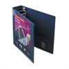 "Avery Heavy-Duty View Binder w/Locking 1-Touch EZD Rings, 2"" Cap, Navy Blue"